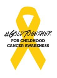 #GoldTogether for Childhood Cancer Awareness