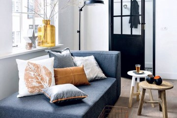 Interior Inspo: leren Leen Bakker kussen • everythingelze