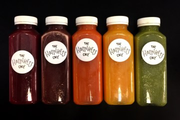 juice cleanse the happiness cafe
