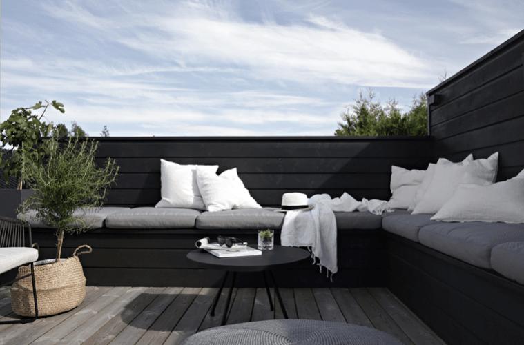 10x de mooiste tuininspiratie met zwarte accenten