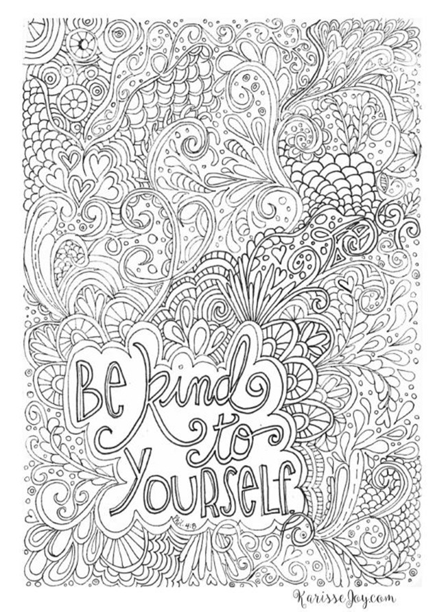 Inspirational Coloring Pages Pdf : inspirational, coloring, pages, Inspiring, Quote, Coloring, Pages, Adults–Free, Printables!, EverythingEtsy.com