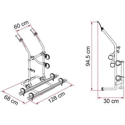 Fiamma Carry-Bike rack – VW T3 (T25)