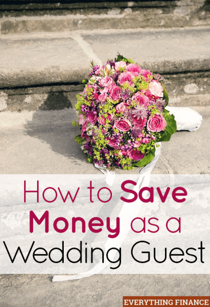 Overwhelmed with the amount of weddings you're attending this season? Use these 3 tips to save money as a wedding guest.