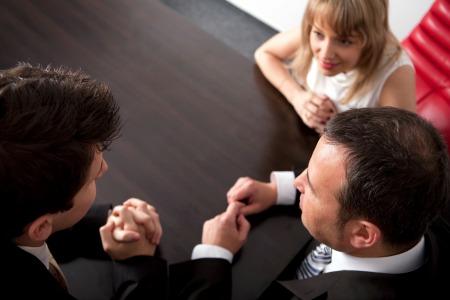 Negotiate woman