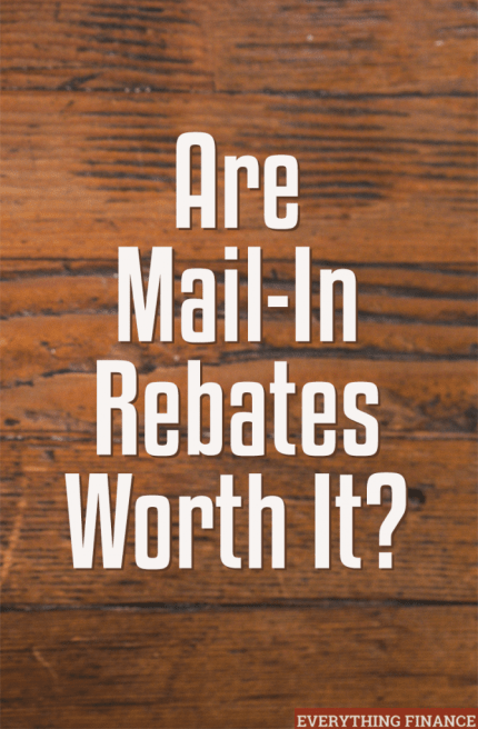 Are mail-in rebates worth it? We review the pros and cons here, and also go over some tips on how to make the most of them.