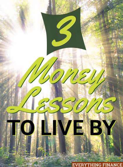 Struggling to manage your money well? By following these 3 simple money lessons, you'll be on the path to a more financially secure future.