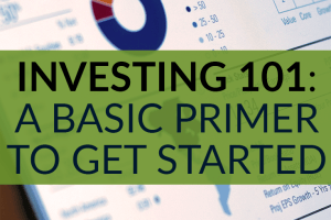 Does investing scare you because you have no idea where to start? You'll learn the basic terminology and how to start investing in this investing 101 post.