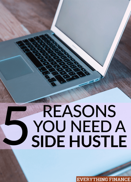 Haven't started a side hustle yet? What are you waiting for? There are many awesome benefits to enjoy when you're working for yourself.