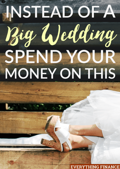 Are you dreaming of having a huge wedding with all the bells and whistles? Your money can get much more mileage if you spend it on these 6 things instead.
