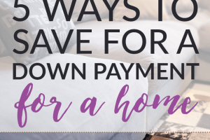Overwhelmed by how much it takes to become a homeowner? Here are five tips that will help you save for a down payment on a house quicker.