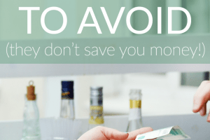 Everyone wants to save money and get a good deal. But these savings hacks are actually harmful. While you might think you're saving money in the short-term, these choices will cost you in the long run.
