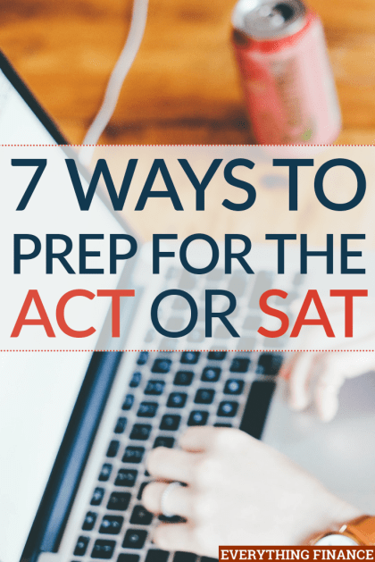 Are you trying to budget for ACT/SAT prep? These college entrance exams can be expensive, and tutoring options can cost even more. Here are 7 choices.