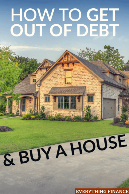Struggling to save for a downpayment on a house because you're trying to pay off debt? It's possible to pay off your debt and achieve your dreams of homeownership. Here's how one couple did it.