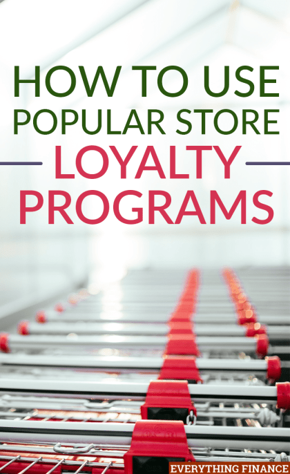 Are you a frequent shopper at some of the bigger retail stores? Then you should take advantage of these store loyalty programs for big savings. Here's how.