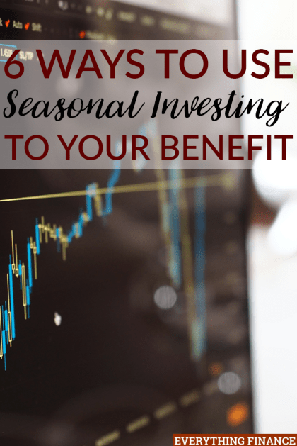 Just as the seasons of the year affect our mood, they can also affect the stock market. Check out how you can use seasonal investing to your benefit.
