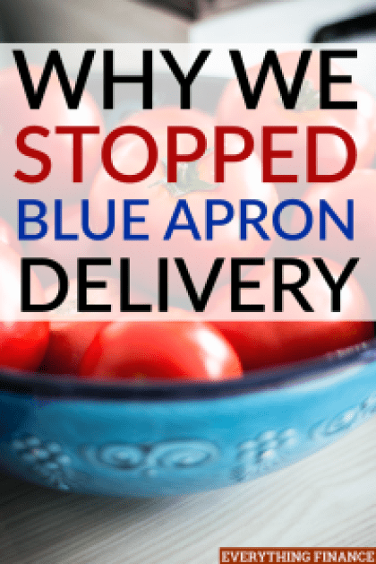 A few months ago, my family decided to try Blue Apron meal delivery service. But after a few weeks, we stopped using Blue Apron delivery. Here's why.