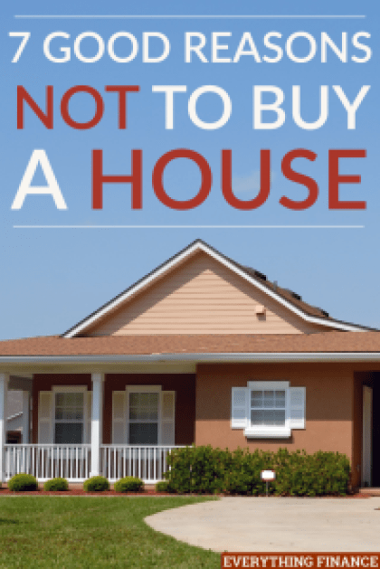 It may seem it's time to buy a house, but there are drawbacks to being a homeowner. Consider these reasons why it may not be a good idea to buy a house.