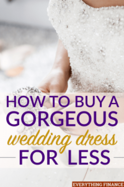 How To Buy A Gorgeous Wedding Dress For Less - Wedding Dress For Less