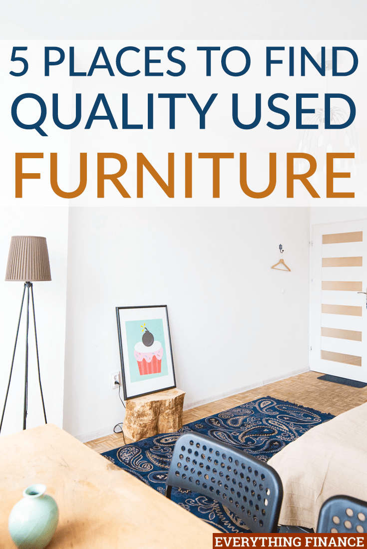 Quality Used Furniture 5 places to find quality used furniture