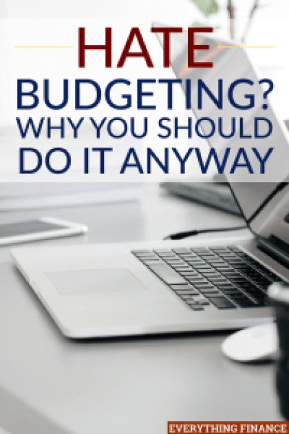 Even if you hate budgeting, these easy steps can help you see that it's not only easy to follow a budget, but beneficial to your finances.