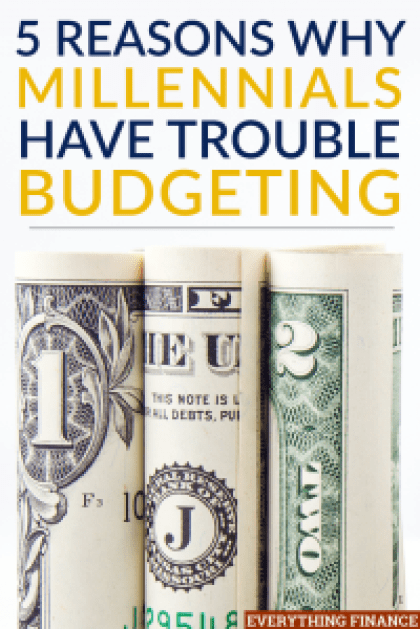 Sticking to a budget can be challenging for well-established adults. So, it's no wonder that many millennials have trouble budgeting.