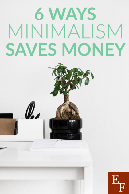There are many benefits to minimalism, including helping you save both time and money. Here are a few ways that practicing minimalism can save money.