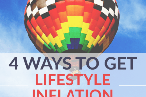 Even if you start earning more, lifestyle inflation can keep you from reaching your financial goals. Find out how to get lifestyle inflation under control.