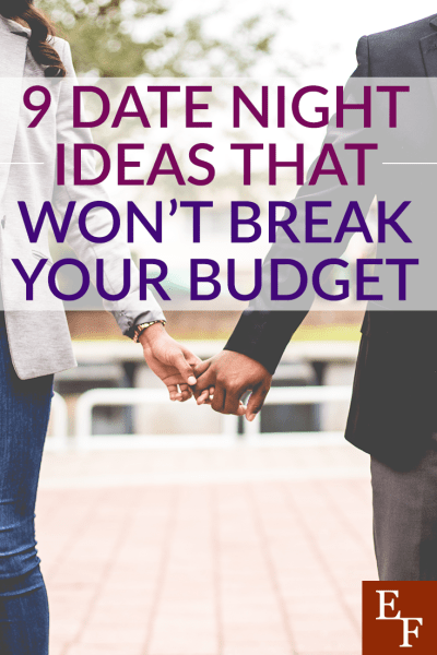 Date night is about spending time together and getting away from the daily grind. But, that doesn't mean you have to spend a lot of money. Here are 9 cheap date night ideas.
