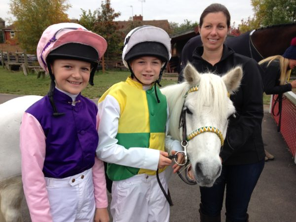 Shetland Grand National Riders with Nina Barbour