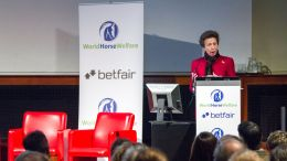HRH The Princess Royal speaking at World Horse Welfare's 2014 conference