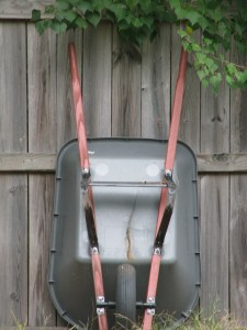 Stable Yard - EMPTY YOUR WHEELBARROWS .... and put them back