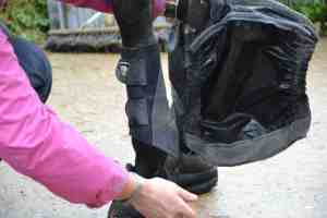 Victoria Bax - Clean and dry boots after all that mud & water