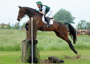 Childeric Saddles  rider Austin O'Connor tackling the Little Downham Course.Photography by Lorraine Porter