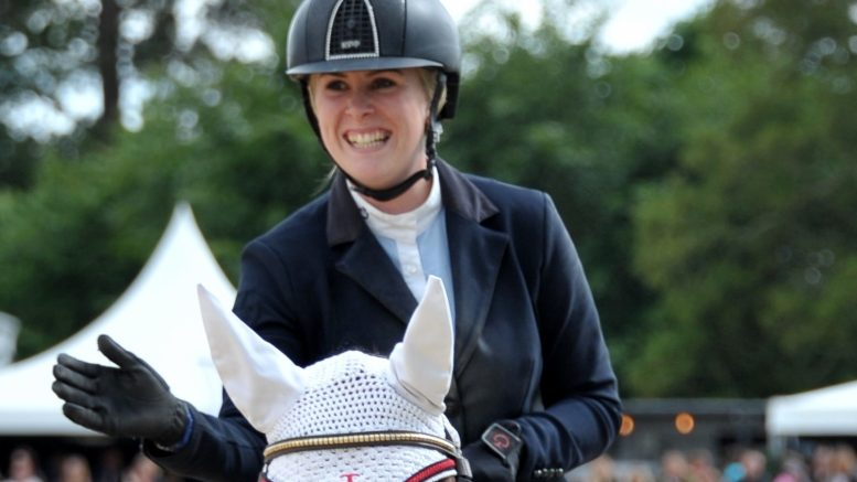 Yazmin Pinchen riding at Bolesworth International