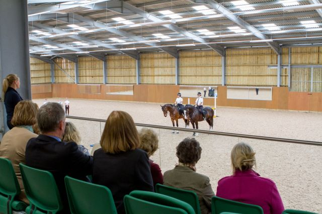 Guests enjoyed a display from members of the Avon and Somerset Mounted D...