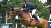 Nick Skelton an Big Star. Image credit British Showjumping
