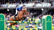 Scott Brash GBR riding Ursula XII wins the CP International -part of the Rolex Grand Slam of Show Jumping