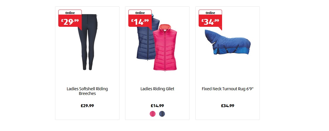 Aldi Equestrian Range Available to Pre-Order Now!