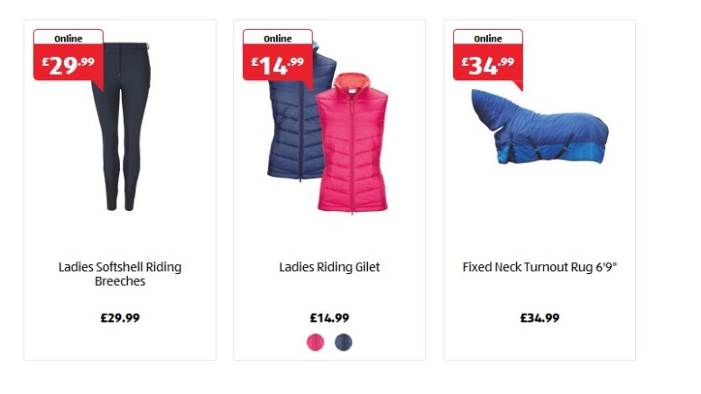 Aldi Equestrian Range 2017 Available To Pre Order Now
