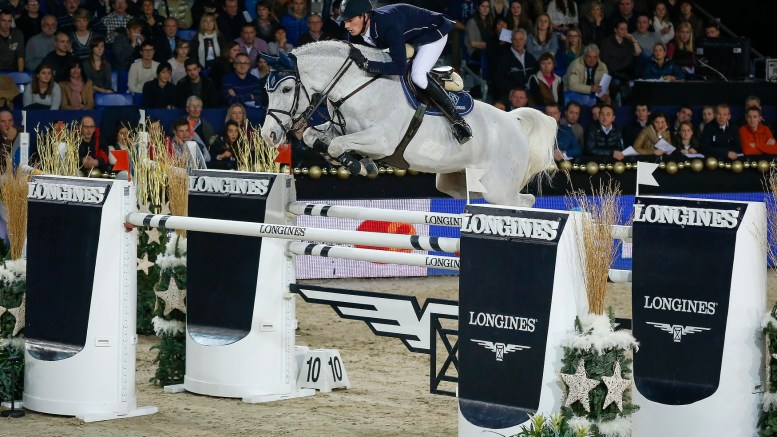 Germany's Daniel Deusser jumps to the top of the Longines rankings (FEI/Dirk Caremans)