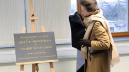 Princess Anne Visits Neue Schule Group