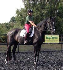 Turn on the forehand. Image sponsored rider Daisy Jackson