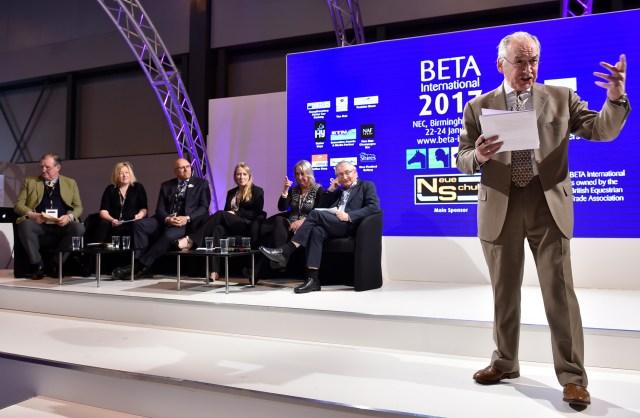 Alastair Stewart Talking Business at BETA International 2017