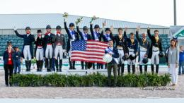 > The U.S. team were champions at last year's Stillpoint Farm FEI Nations Cup at AGDF. ©SusanJStickle.com