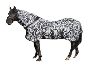 Equine Essentials Direct - Zebra Fly Rug