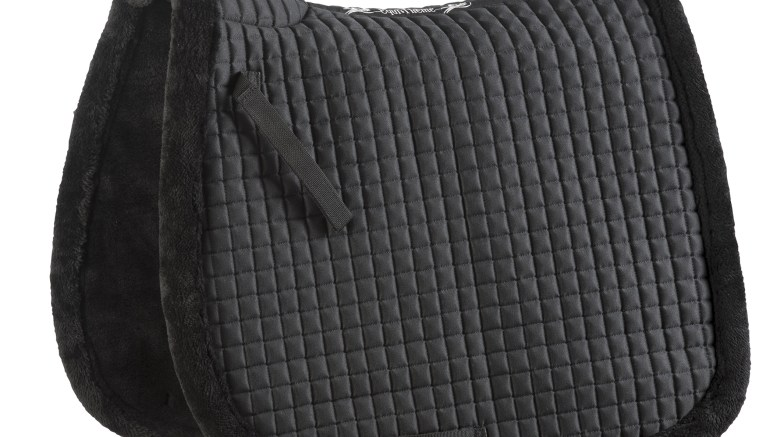 Equitheme Luxe Saddle Pad - Black