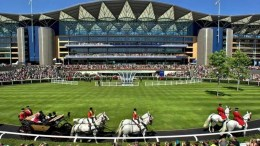 Royal Ascot Source: Racing UK via Twitter