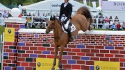 Trevor Breen on Lord Luidam, Bolesworth Puissance