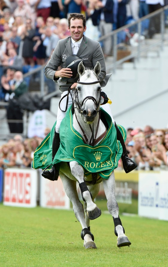 WINNER OF THE 2016 ROLEX GRAND PRIX PHILIPP WEISHAUPT RIDING LB CONVALL ©ROLEX/KIT HOUGHTON
