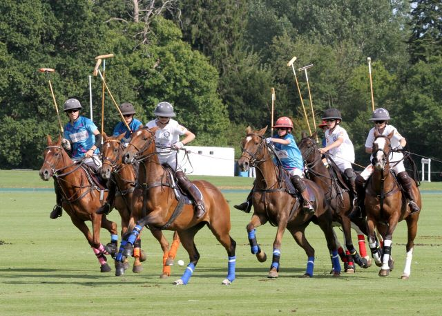 An Array of Talent on display at the 2017 El Remanso Pony Club Polo Championships - Team Surtees. Image credit Michael Chevis.